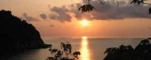 Haad Tien Bay Sunrise