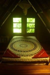 yogini loft bed room