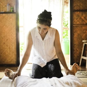 Thai massage training courses Thailand