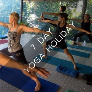 7 day yoga holiday package