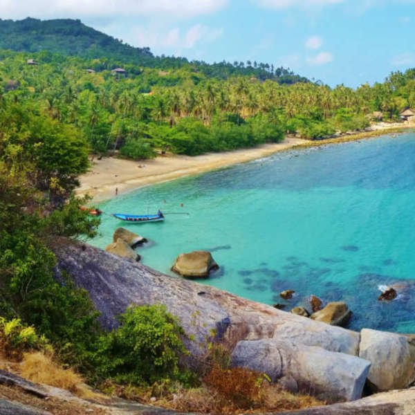 top ten beaches koh phangan thailand